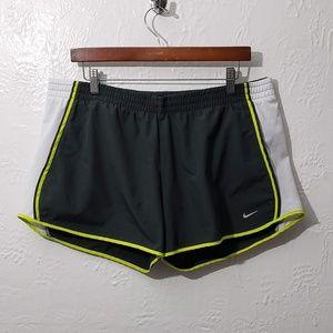 Nike Dri-Fit womens shorts size XL (16-18) drk gry